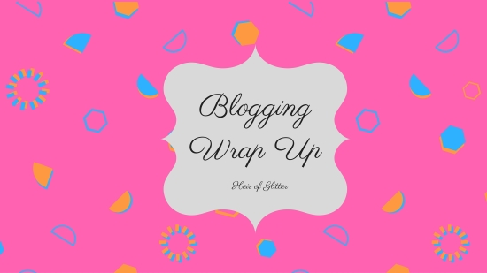 blogging wrap up